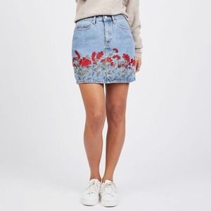 Juicy Couture Floral Embroidered Mini Skirt 27